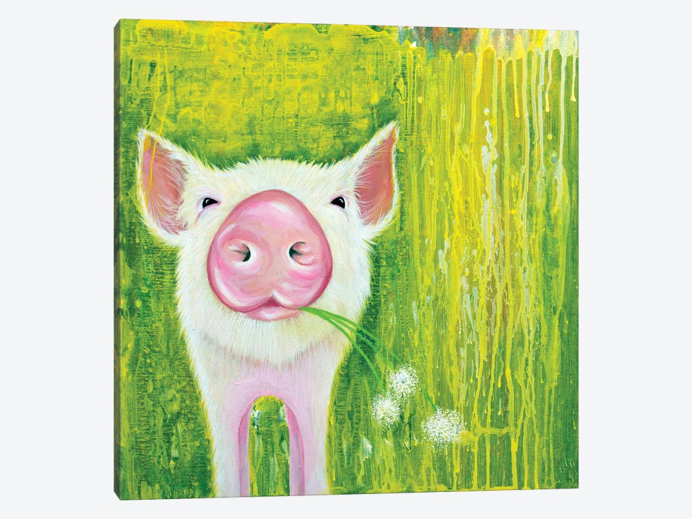Pig by Michelle Faber 1-piece Art Print