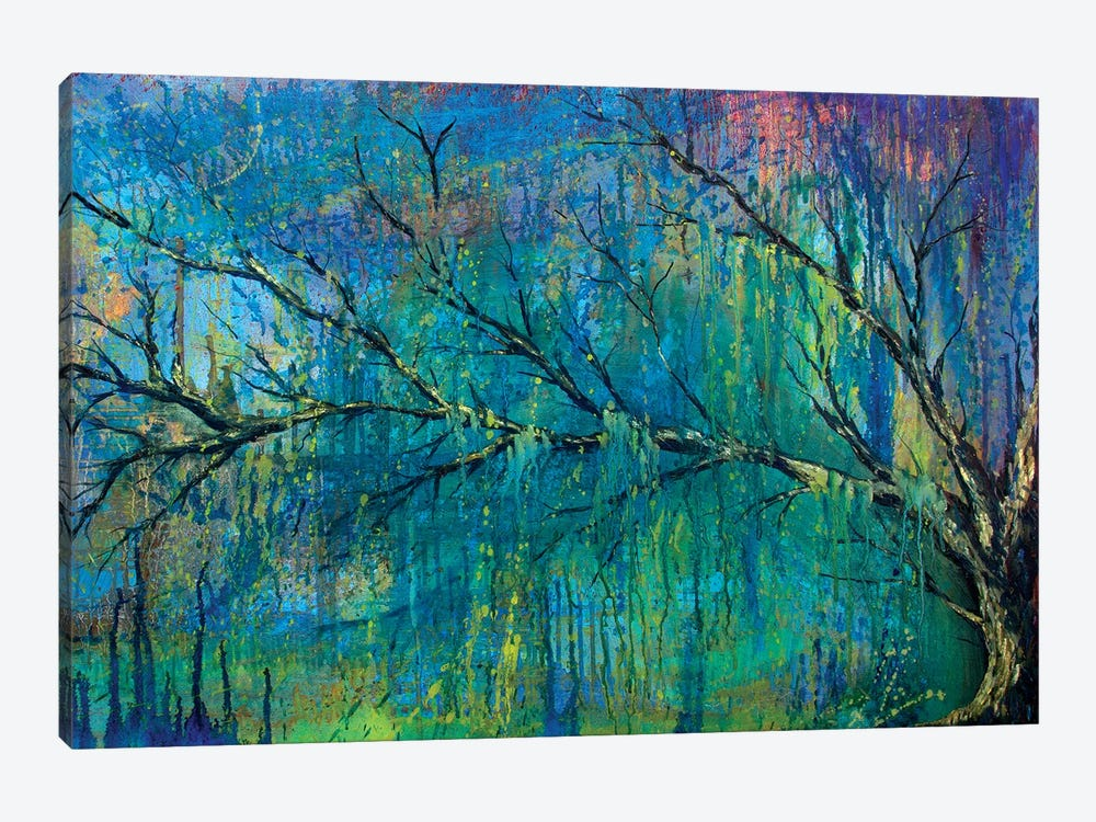 Prelude To Spring Tree by Michelle Faber 1-piece Canvas Wall Art