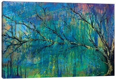 Prelude To Spring Tree Canvas Art Print
