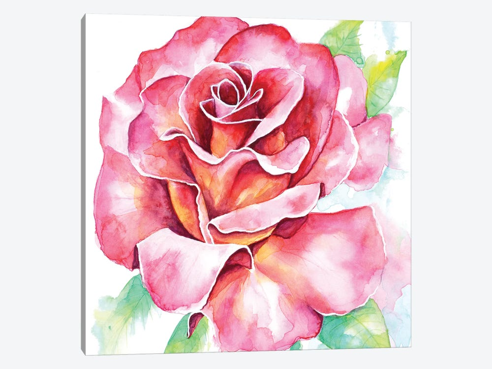 Rose 1-piece Canvas Artwork