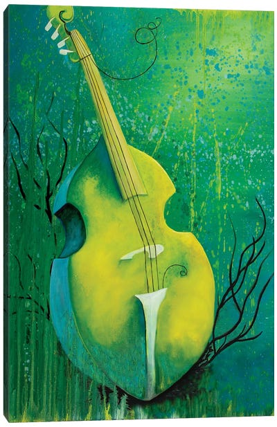 Sunken Dreams Cello Canvas Art Print