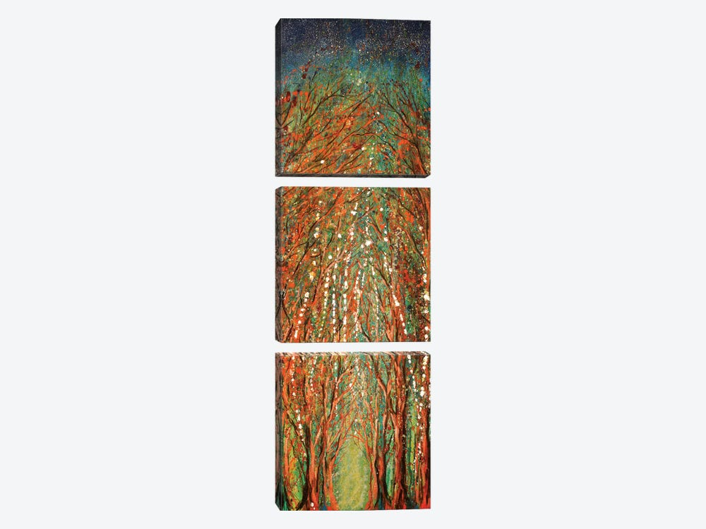 The Wildwood Forest by Michelle Faber 3-piece Art Print