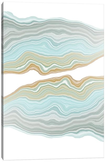 Aqueous Canvas Art Print