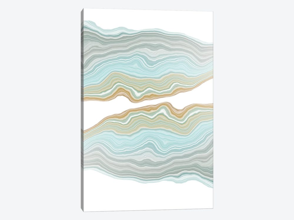 Aqueous by 5by5collective 1-piece Canvas Print