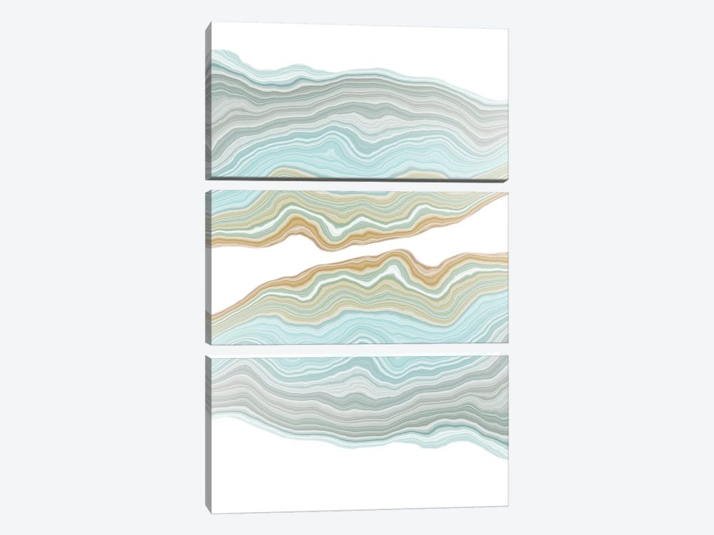 Aqueous by 5by5collective 3-piece Art Print