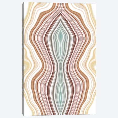 Fluctuating Tides Canvas Print #FAD2} by 5by5collective Canvas Artwork