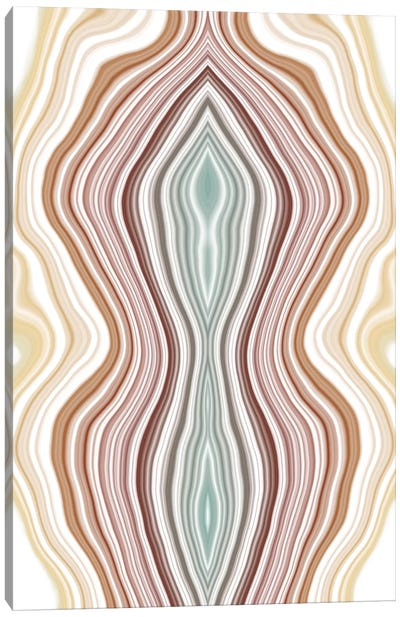 Fluctuating Tides Canvas Art Print