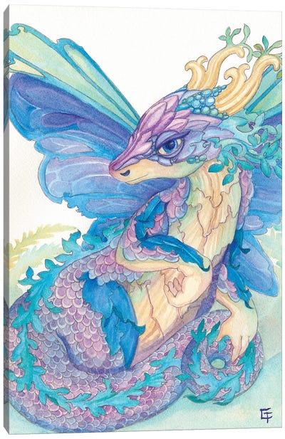 Opal Dragon Canvas Art Print