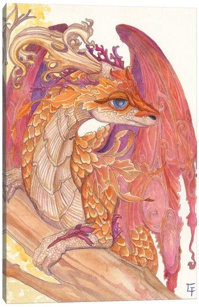Autumn Dragon Canvas Art Print