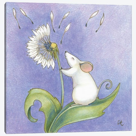 Little Wishes Canvas Print #FAI14} by Might Fly Art & Illustration Canvas Print