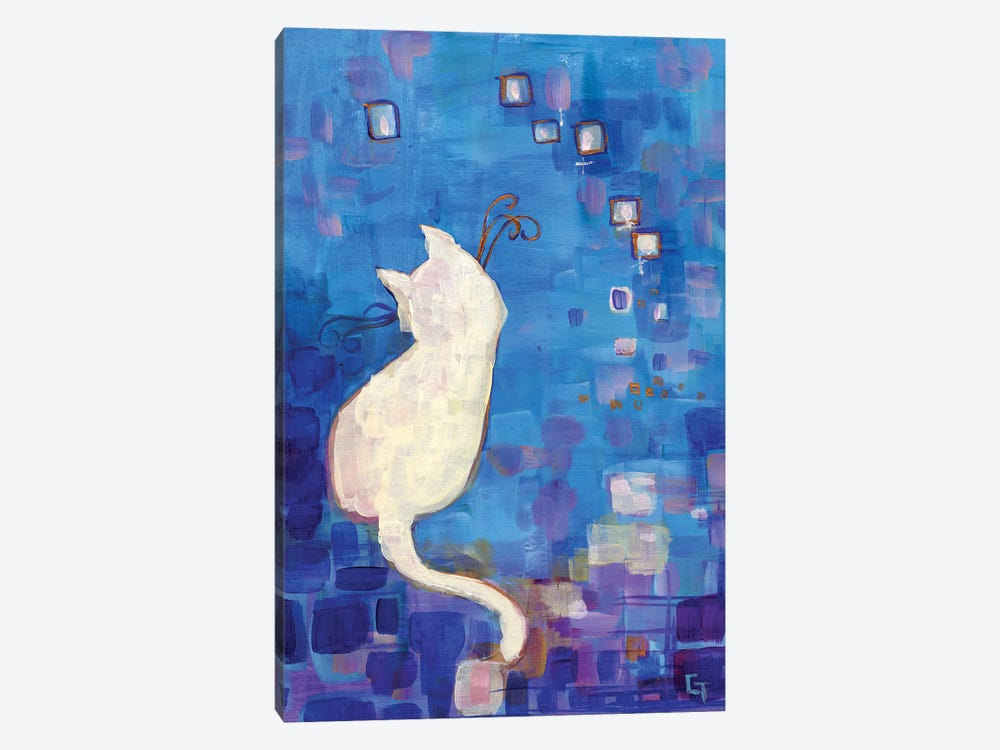 Constellation by Might Fly Art & Illustration 1-piece Canvas Artwork