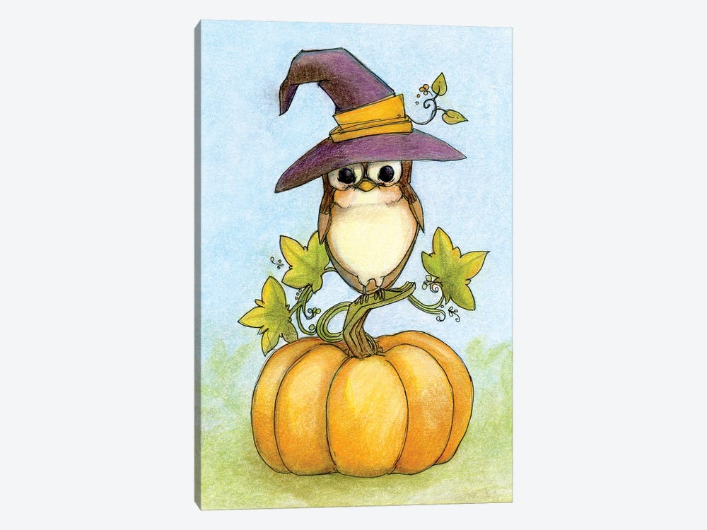 Owloween by Might Fly Art & Illustration 1-piece Art Print