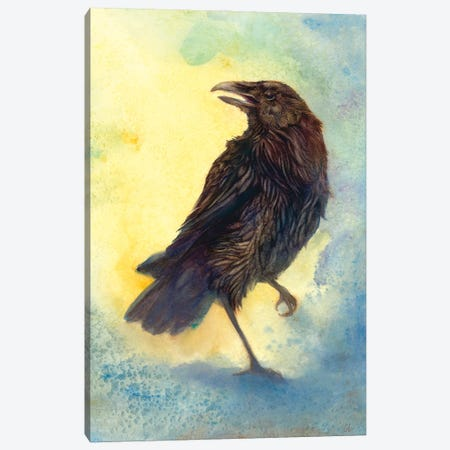 Casting Shadows Canvas Print #FAI27} by Might Fly Art & Illustration Canvas Artwork