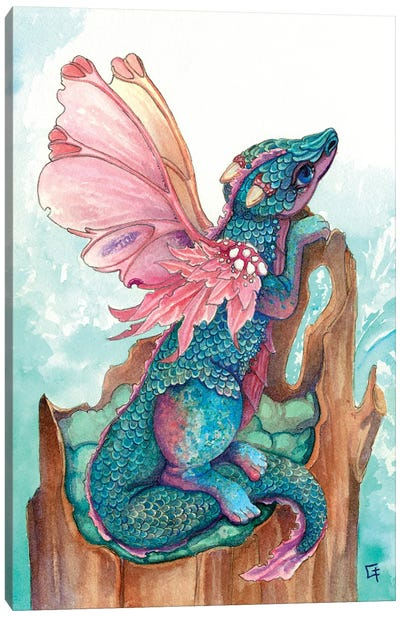 Fairy Dragon Canvas Art Print