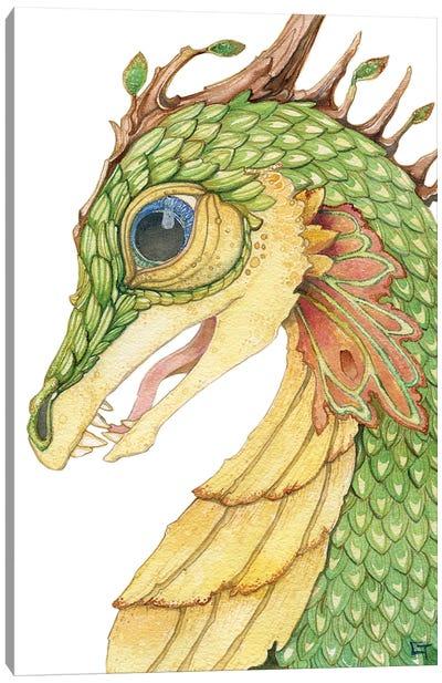 Leaf Scaled Dragon Canvas Art Print