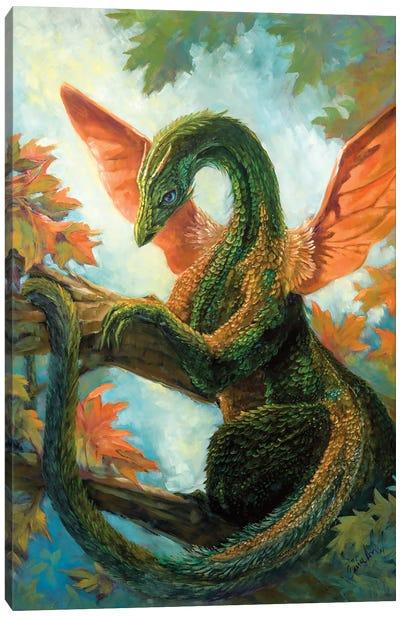 Verdant Dragon Canvas Art Print