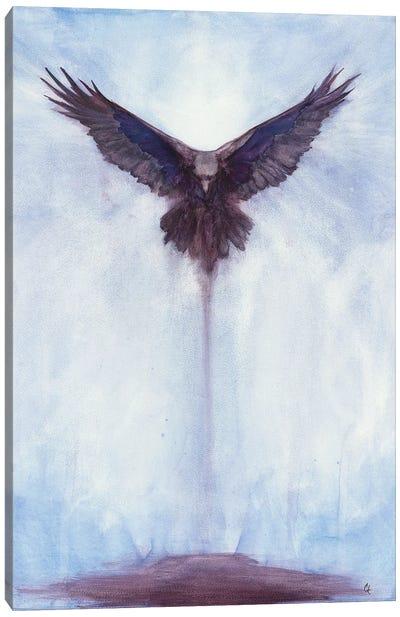 Downward Force Canvas Art Print