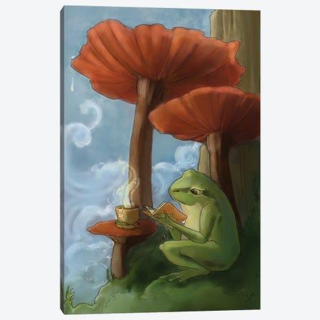 Oregon Tree Frog Canvas Print #FAI64} by Might Fly Art & Illustration Canvas Artwork