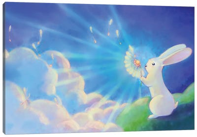 Wishes Canvas Art Print