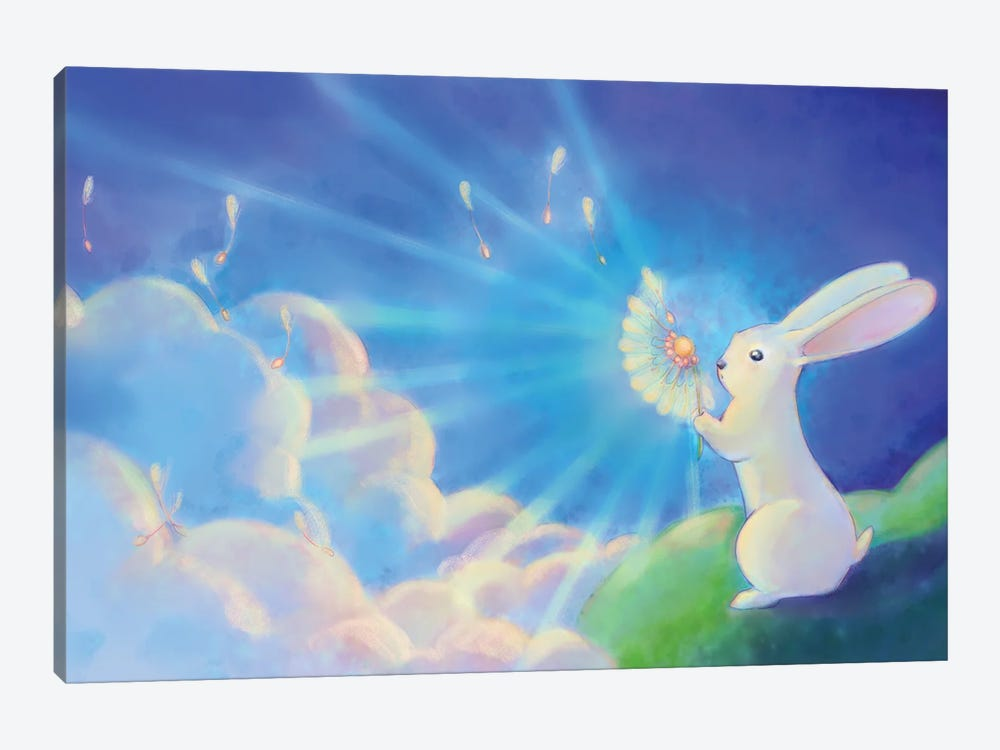 Wishes by Might Fly Art & Illustration 1-piece Art Print