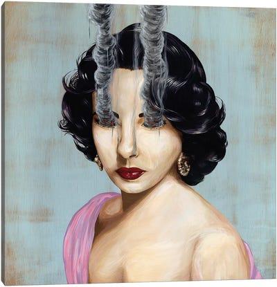 Elizabeth Taylor Canvas Print #FAM11