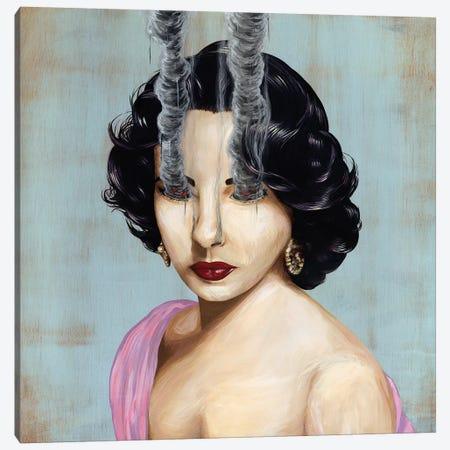 Elizabeth Taylor Canvas Print #FAM11} by Famous When Dead Canvas Art