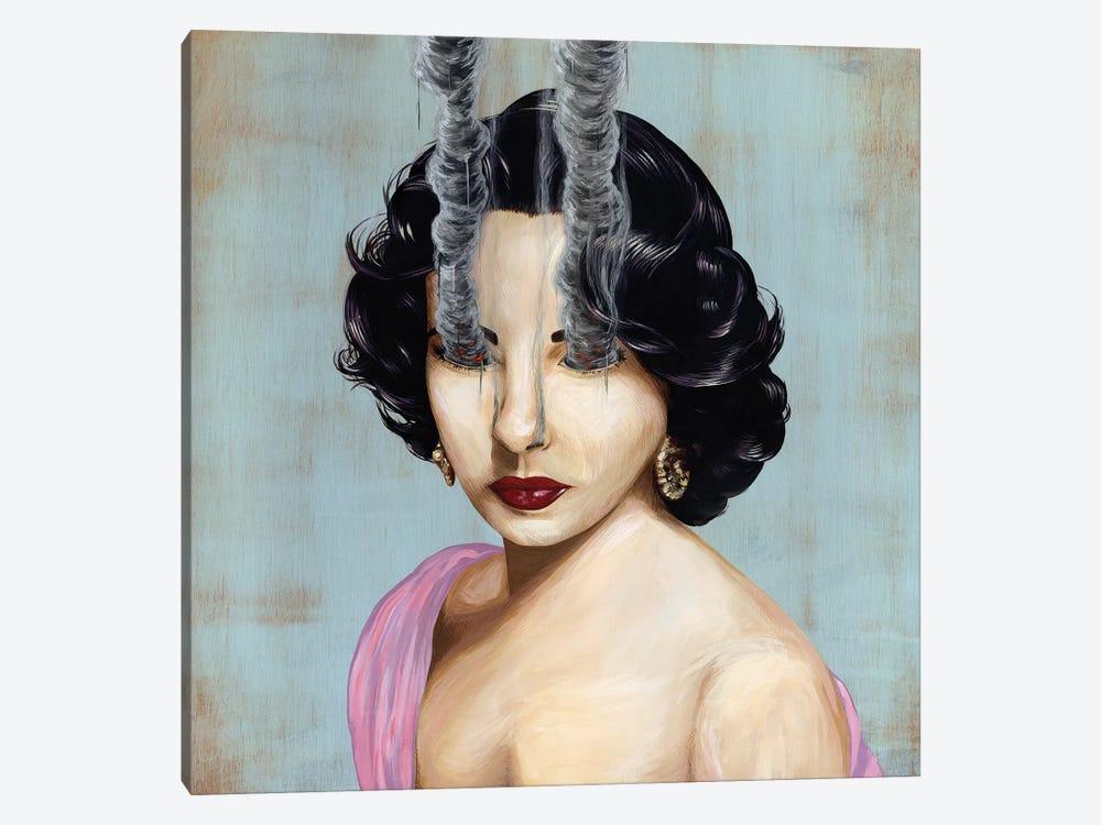 Elizabeth Taylor by Famous When Dead 1-piece Canvas Print