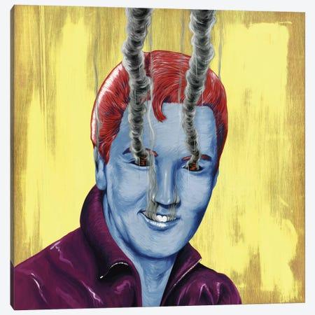 Elvis Canvas Print #FAM12} by Famous When Dead Canvas Artwork