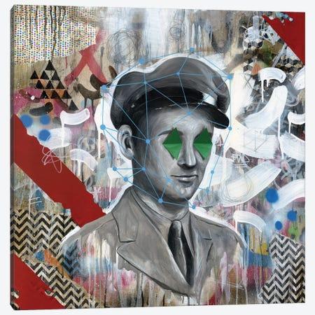 Forgotten Soldier Canvas Print #FAM17} by Famous When Dead Canvas Art Print