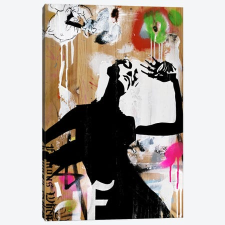 Hot New Decay Canvas Print #FAM19} by Famous When Dead Canvas Art