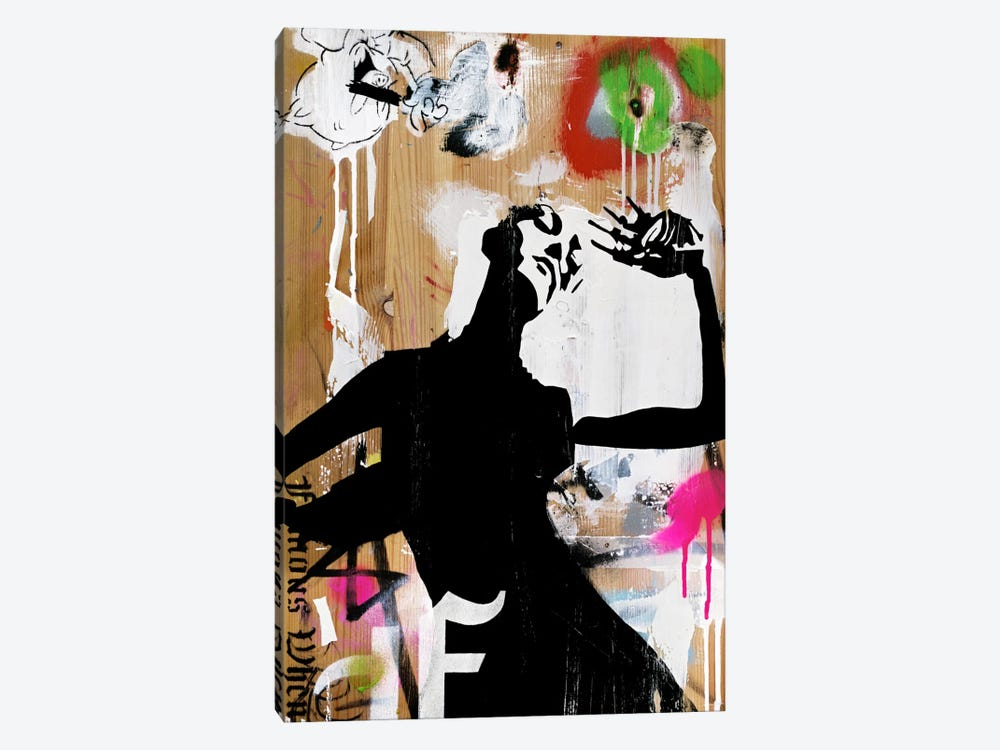 Hot New Decay 1-piece Canvas Art Print