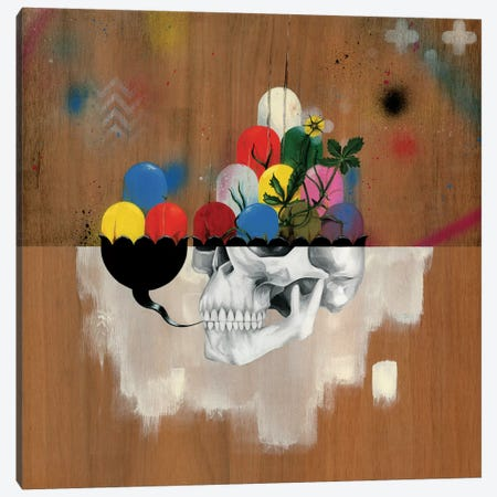 Jelly Full Of Head Canvas Print #FAM21} by Famous When Dead Art Print