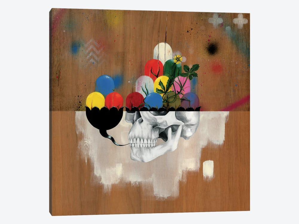 Jelly Full Of Head by Famous When Dead 1-piece Canvas Artwork