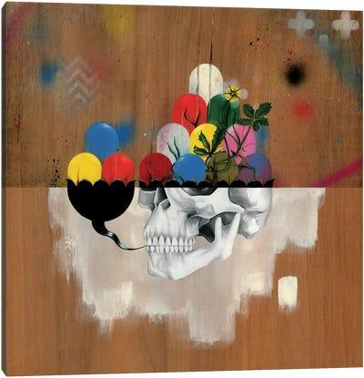 Jelly Full Of Head Canvas Art Print