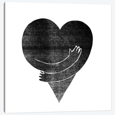 Love Canvas Print #FAM23} by Famous When Dead Art Print