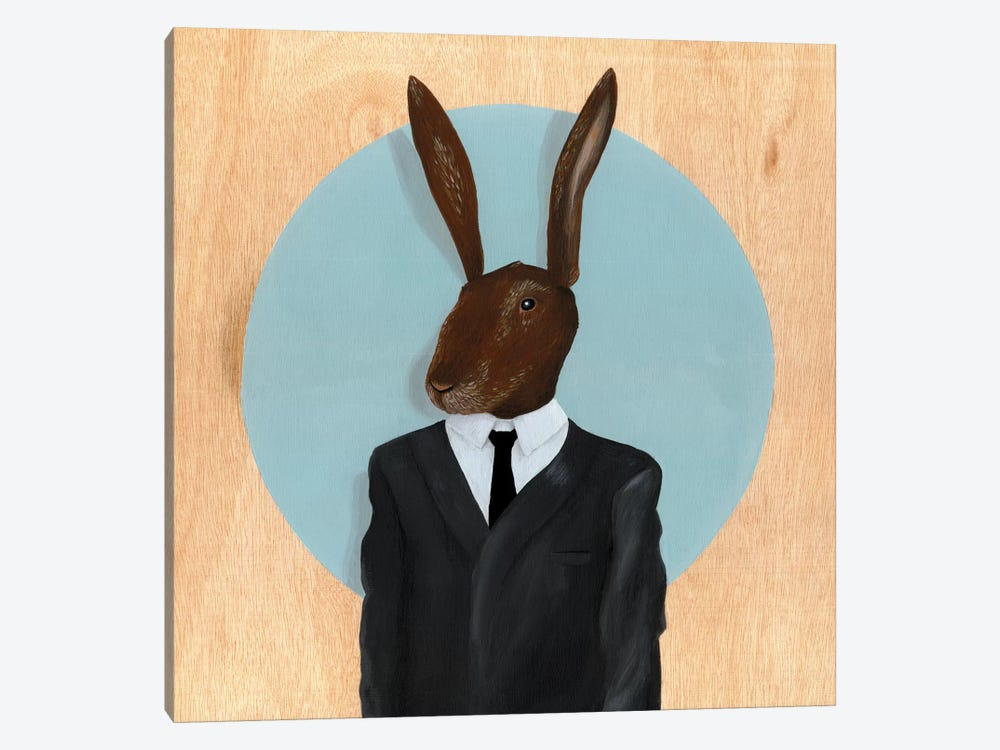 Rabbit by Famous When Dead 1-piece Canvas Artwork