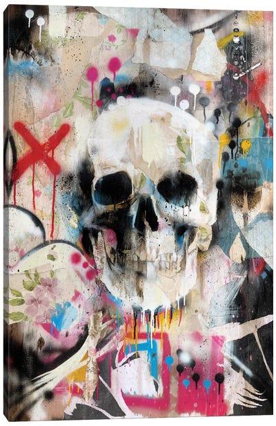 Skull Canvas Art Print