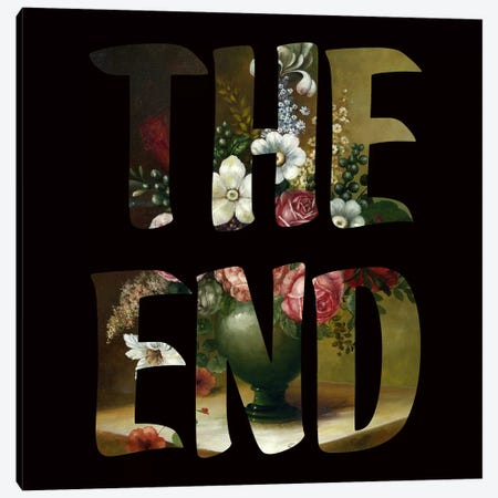 The END Canvas Print #FAM38} by Famous When Dead Canvas Art