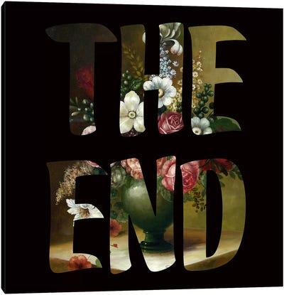 The END Canvas Print #FAM38
