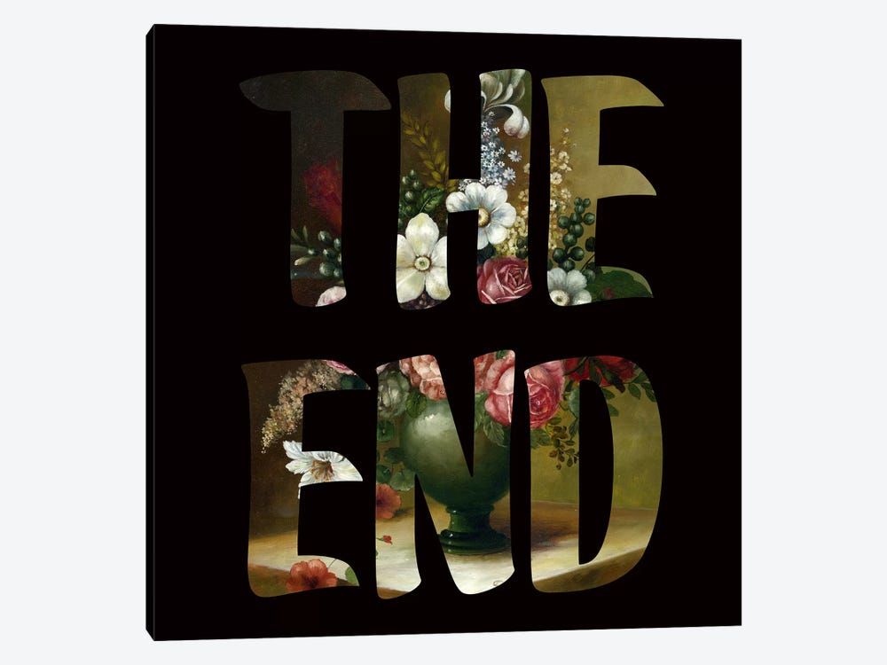 The END by Famous When Dead 1-piece Canvas Art