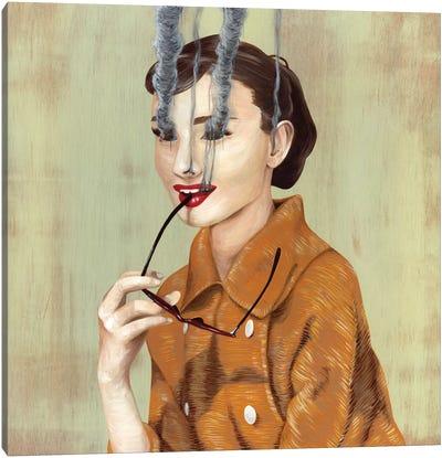 Audrey Hepburn Canvas Print #FAM3