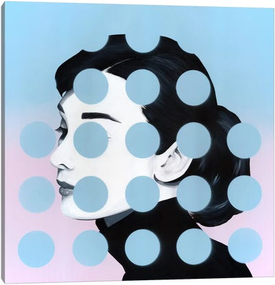 Audrey by Famous When Dead Canvas Art Print