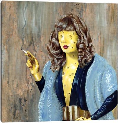 Cheese Lady Canvas Art Print