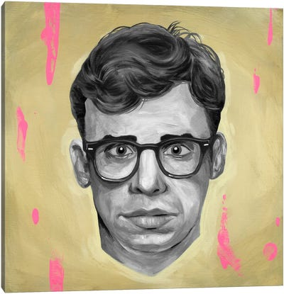 Moranis by Famous When Dead Canvas Art Print