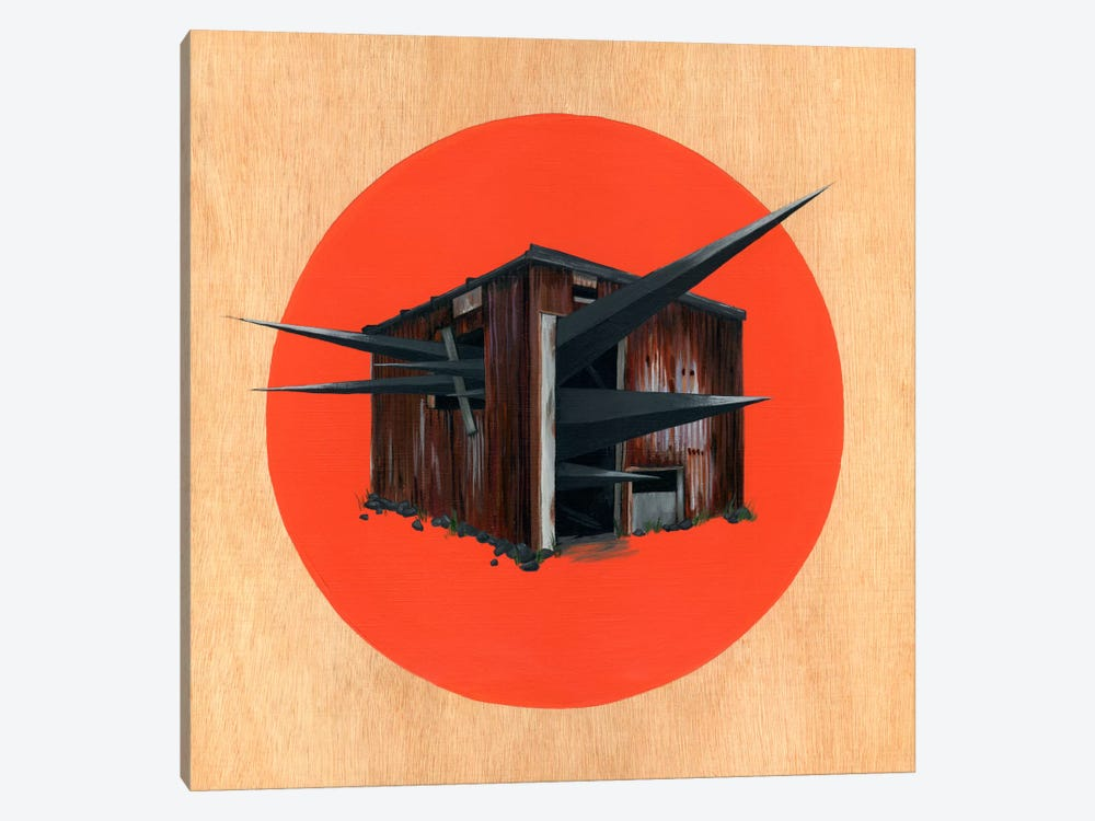 Shed III by Famous When Dead 1-piece Canvas Wall Art