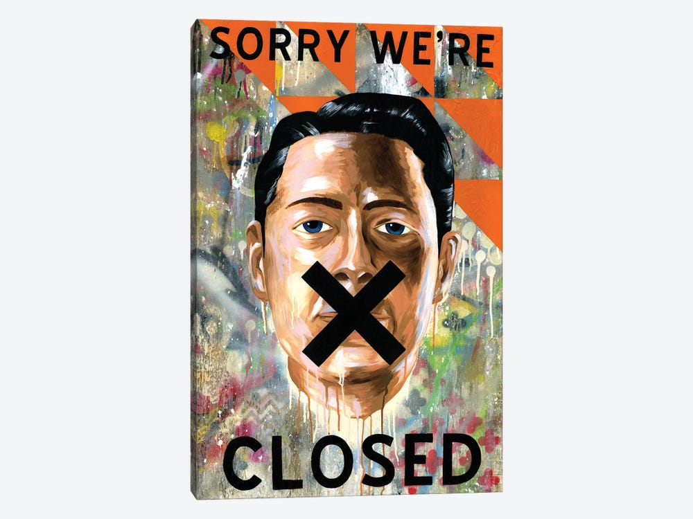 Sorry We're Closed by Famous When Dead 1-piece Art Print