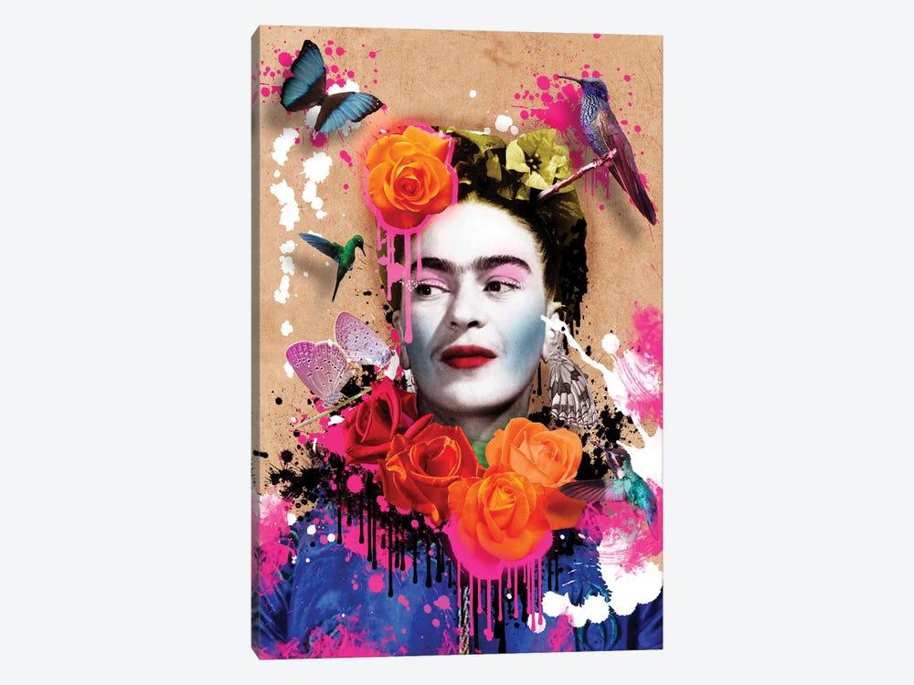 Frida Khalo by Frank Amoruso 1-piece Canvas Artwork
