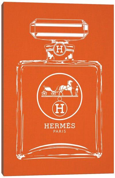 Hermes White Canvas Art Print