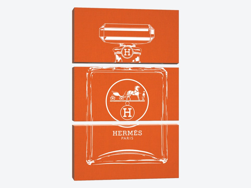 Hermes White by Frank Amoruso 3-piece Canvas Wall Art