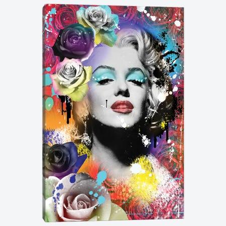Marilyn Monroe Canvas Print #FAR22} by Frank Amoruso Canvas Artwork